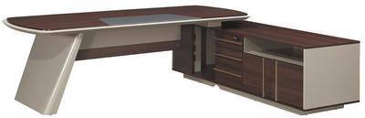 主桌寬220深94高76 側櫃寬190深60高62.5 總寬240深94高76