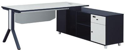 主桌寬160深80高75 側櫃寬160深48高64.5 總寬180深160高75