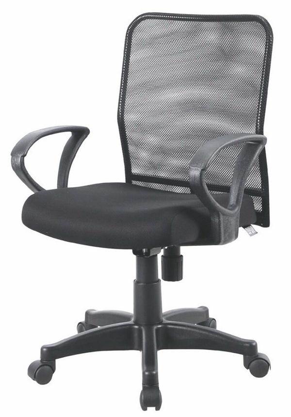 高密度泡棉坐墊      氣壓升降      椅背旋鈕鬆緊傾仰    座寬44座深43高87~97