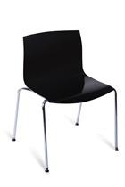 造型椅 方(黑/白)