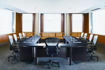 馬鞍皮環式會議桌