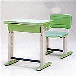 可調式人體工學課桌椅(綠)