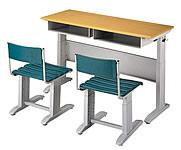 補習班2人課桌椅組