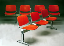 PP面六人排椅