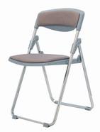 專利塑鋼椅 布面/電鍍