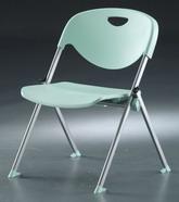塑鋼椅 烤漆 無扶手
