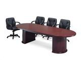 橢圓會議桌 木皮