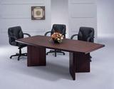 船型會議桌 木皮