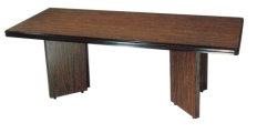 方形會議桌 小圓角 美耐板