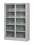 JD460連座玻璃櫃書櫃