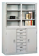 HL467整座中七屜書櫃
