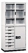 HB367整座邊七屜書櫃