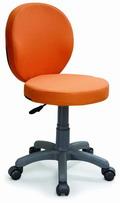 電腦椅 圓坐 無扶手