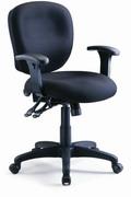 電腦椅 低背 調整扶手