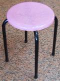 八分膠椅-果凍黑