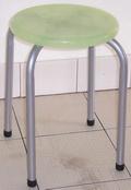 八分膠椅-果凍銀腳
