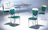 方桌T8028+椅C1006
