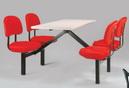 四人餐桌椅 PE #330I